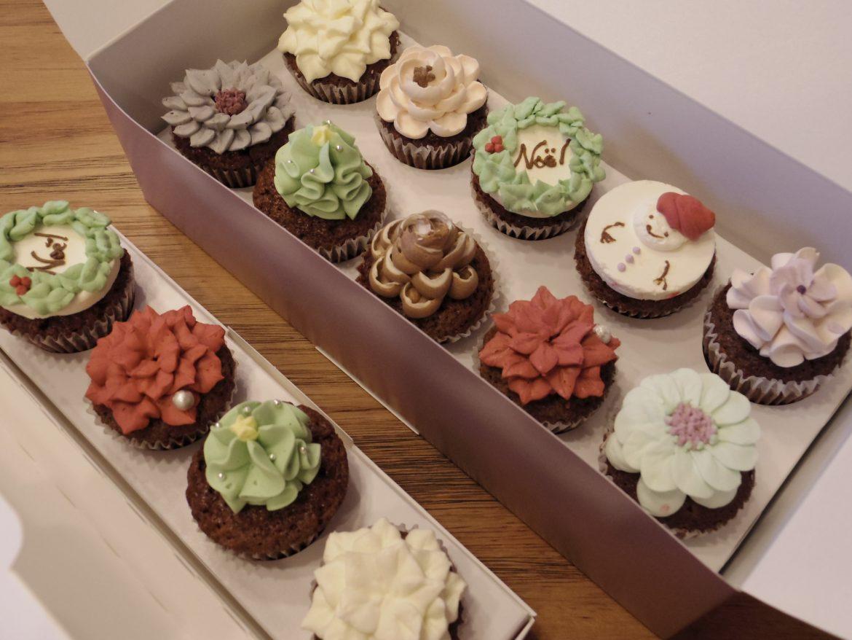 【10個入り完売・4個入り残りわずか】クリスマスカップケーキ限定販売のお知らせ