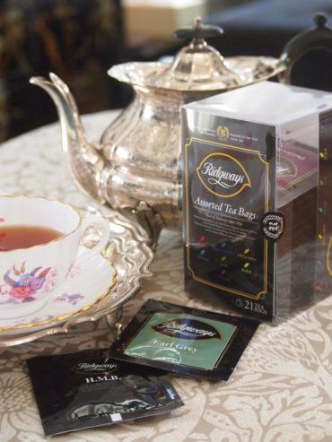 人気商品、リッジウェイ紅茶アソートティーバッグ、入荷しました